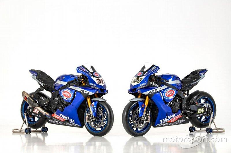 Les motos de Federico Caricasulo et Garrett Gerloff, GRT Yamaha