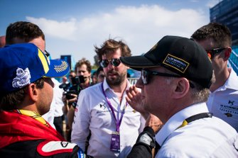 Xavier Mestelan Pinon, DS Performance Director, Antonio Felix da Costa, DS Techeetah