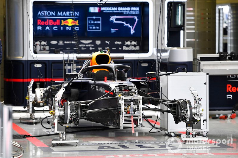 Suspension avant de la Red Bull Racing RB15