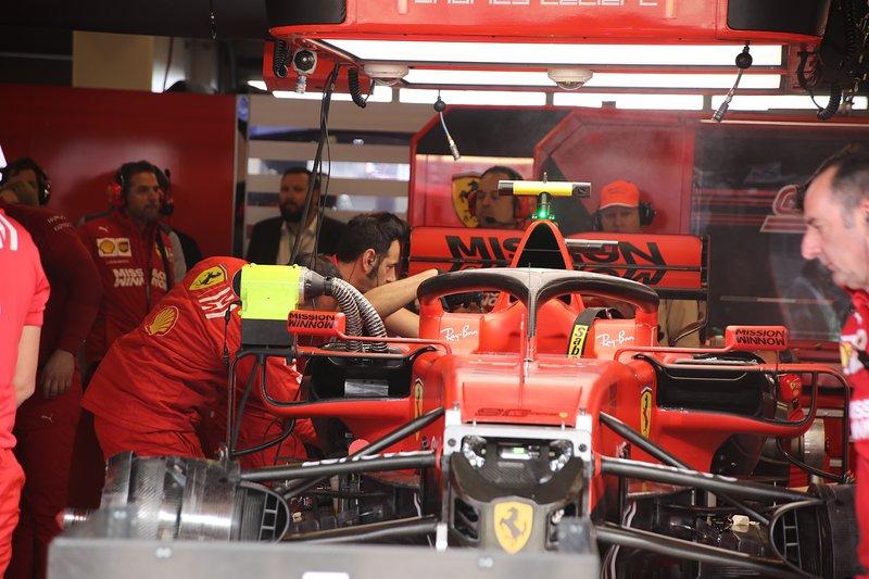 La monoposto di Charles Leclerc, Ferrari SF90
