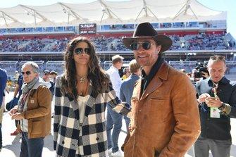 Model Camila Alves and her husband, actor Matthew McConaughey