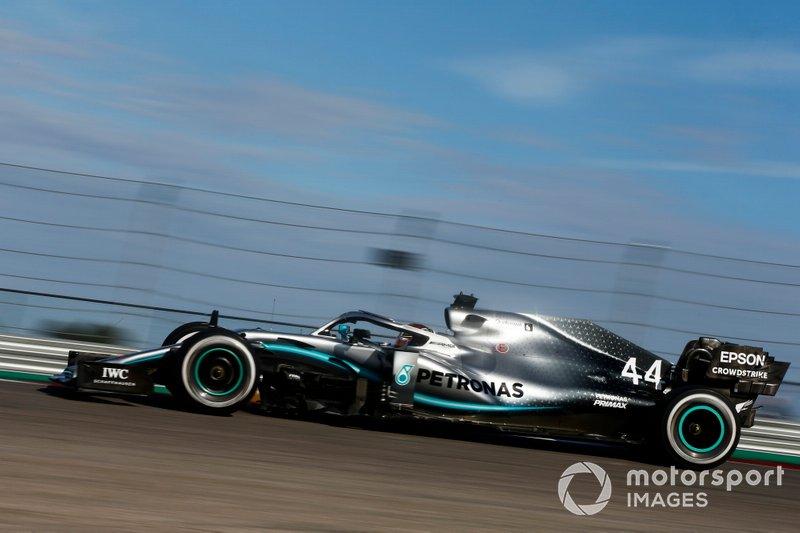 5.- Lewis Hamilton, Mercedes AMG F1 W10, 1m32.321s