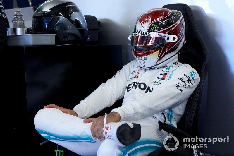 """Durante el GP de EE UU, Hamilton tiró de calma y modo zen cuando se le preguntó por las más que claras opciones de coronarse en el país que es su segunda casa: """"No considero que esta carrera sea particularmente importante. Para mí es tan importante como cualquier otra"""""""
