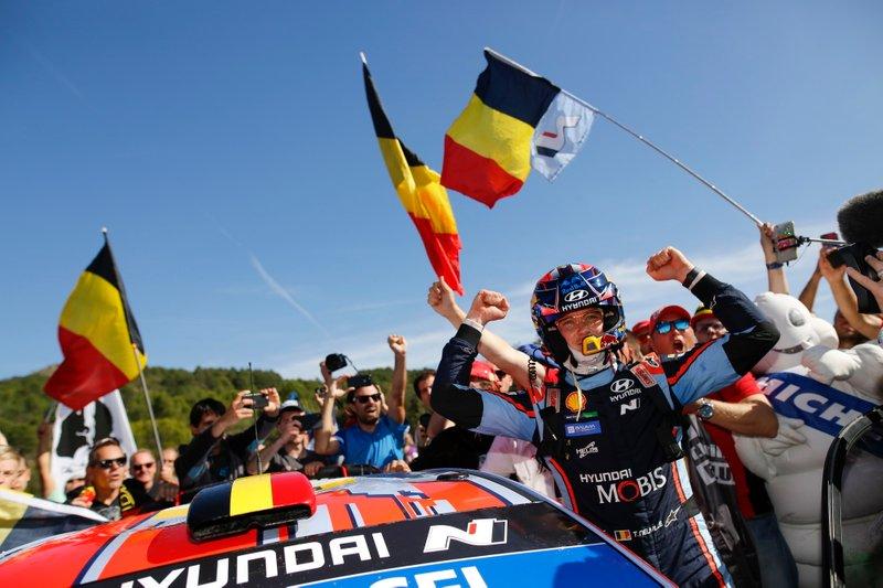 Ganador Thierry Neuville, Hyundai Motorsport