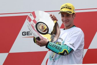 Podium: race winner Lorenzo Dalla Porta, Leopard Racing