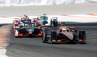 Jean-Eric Vergne, DS TECHEETAH, DS E-Tense FE20, Daniel Abt, Audi Sport ABT Schaeffler, Audi e-tron FE06