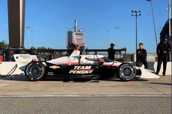 Aeroscreen-Test: Josef Newgarden, Team Penske Chevrolet