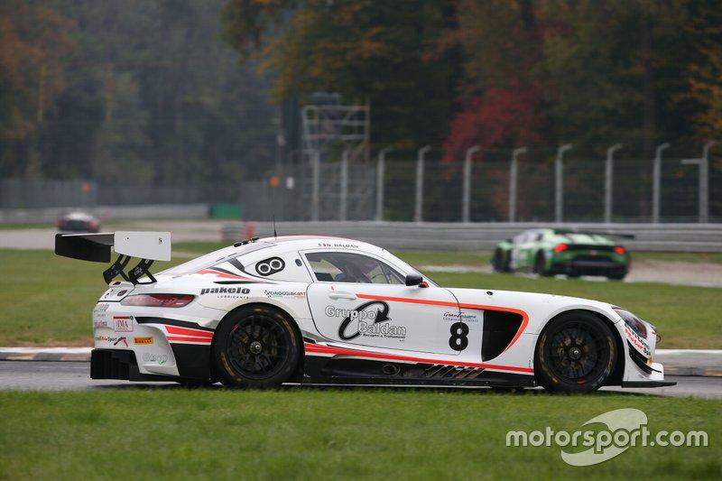 #8 Mercedes AMG GT3-GT3 PRO, Antonelli Motorsport: Nicola Baldan