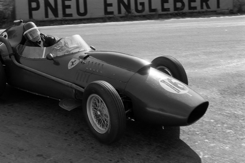 GP de Belgique - Mike Hawthorn, Ferrari 246