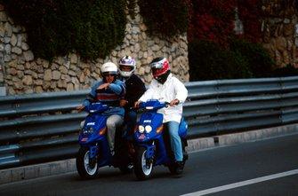 Olivier Panis, Prost GP and Shinji Nakano, Prost GP