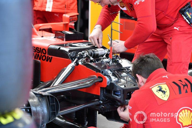 Ferrari SF1000 dettagli tecnici