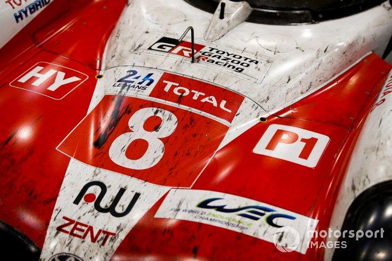 2019, La Toyota di Sébastien Buemi, Kazuki Nakajima e Fernando Alonso che vinse la 24 ore di Le Mans