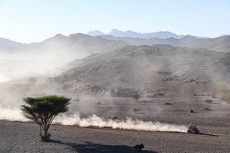 during Stage 2 of the Dakar 2020 between Al Wajh and Neom, 401 km - SS 367km, in Saudi Arabia, on January 6, 2020 - Photo Eric Vargiolu / DPPI