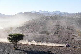 during Stage 2 of the Dakar 2020 between Al Wajh and Neom, 401 km - SS 367km, in Saudi Arabia, on January 6, 2020 - Photo Eric Vargiolu / DPPI