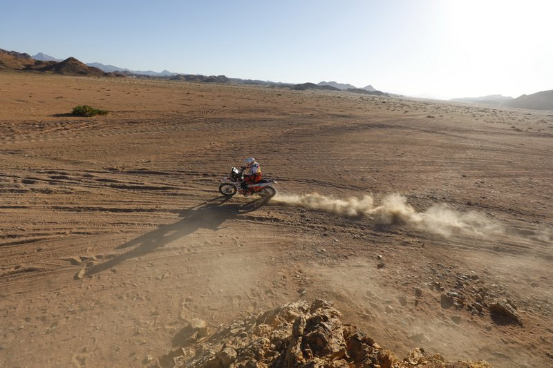 #18 BAS Dakar KTM Racing Team: Ross Branch