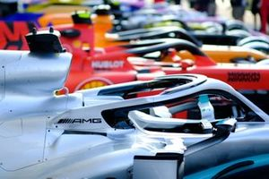 Mercedes AMG F1, Ferrari SF90, McLaren MCL34, Haas F1 Team VF-19 , Renault F1 Team R.S.19, Racing Point