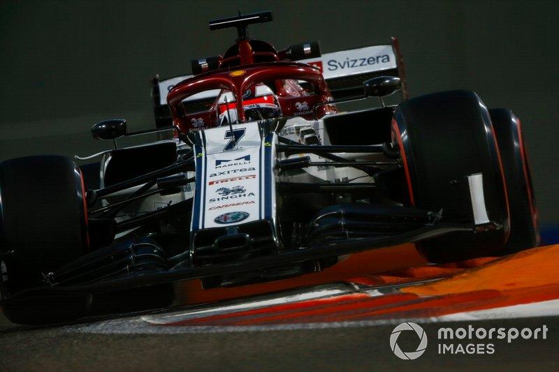 Kimi Raikkonen, Alfa Romeo Racing: 7 puan
