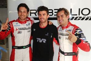 Pole sitter #1 Rebellion Racing Rebellion R13 - Gibson: Bruno Senna, Gustavo Menezes, Norman Nato