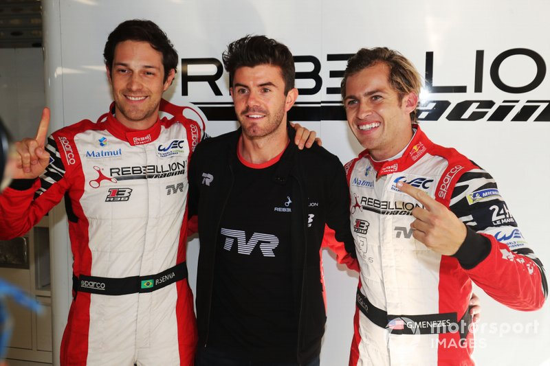 Polesitter #1 Rebellion Racing Rebellion R13 - Gibson: Bruno Senna, Gustavo Menezes, Norman Nato