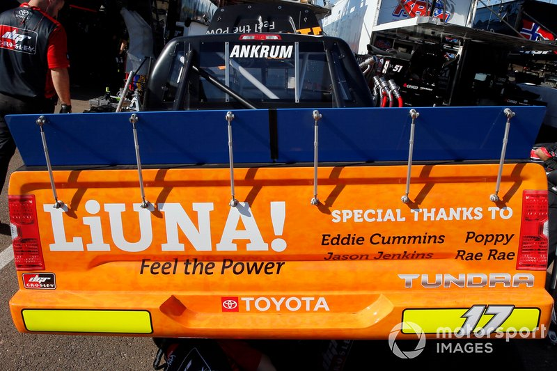 Tyler Ankrum, DGR-Crosley, Toyota Tundra LiUNA!