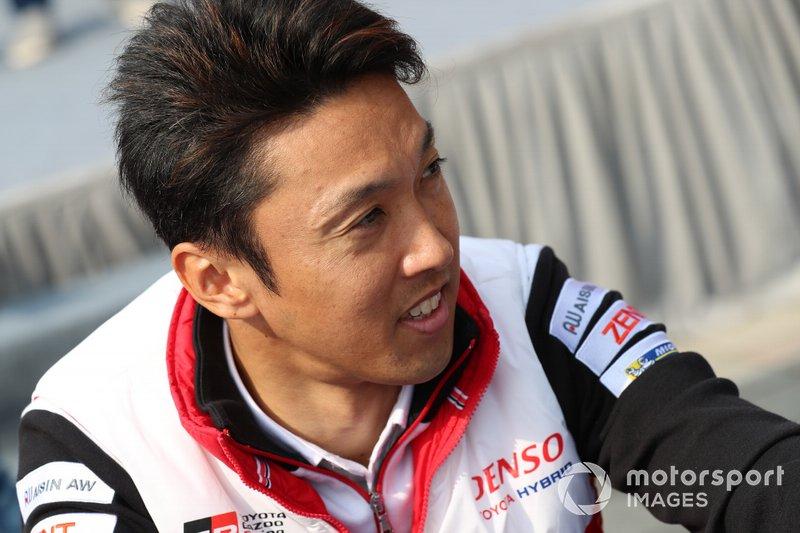 Kazuki Nakajima (#8 Toyota)