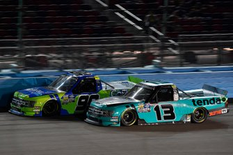 Johnny Sauter, ThorSport Racing, Ford F-150 Tenda Heal and Ben Rhodes, ThorSport Racing, Ford F-150