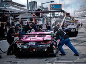#86 Meyer Shank Racing w/Curb-AgA.J.anian Acura NSX GT3, GTD: Mario Farnbacher, Matt McMurry, Shinya Michimi, Jules Gounon