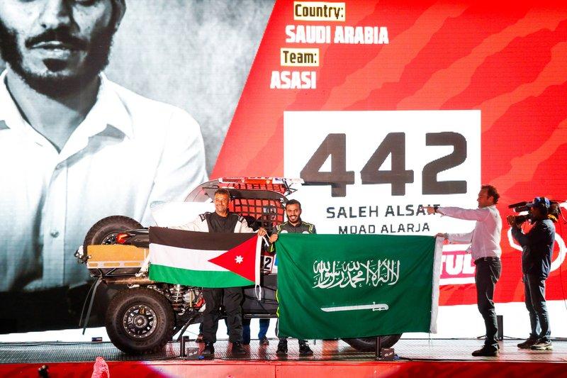 2º de los SSV de Serie (T3S): Alsaif, Moad Alarja, 2.000€ + 1 trofeo