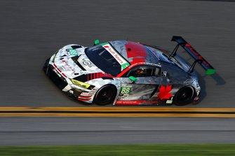 #88 WRT Speedstar Audi Sport Audi R8 LMS GT3: Mirko Bortolotti, Rolf Ineichen, Daniel Morad