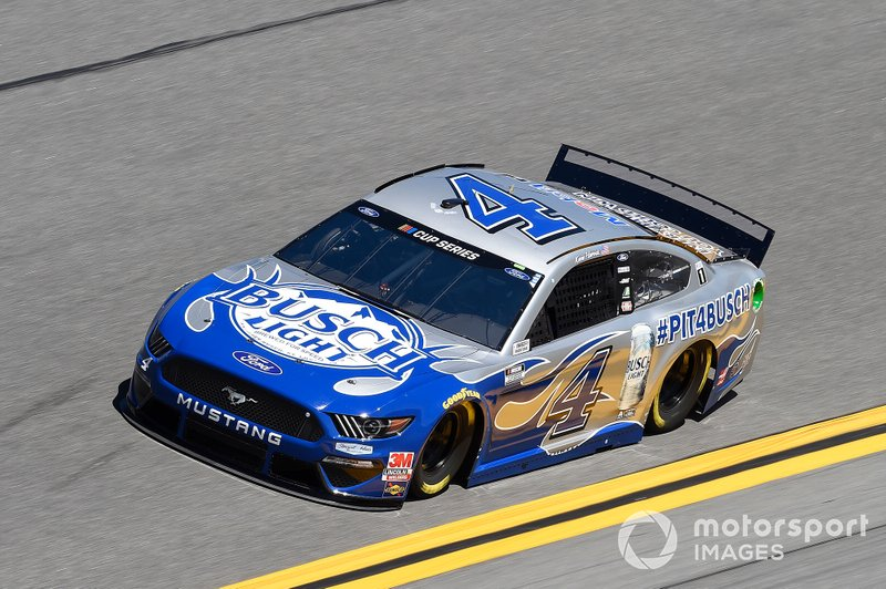 10. Kevin Harvick, Stewart-Haas Racing, Ford Mustang Busch Light #PIT4BUSCH