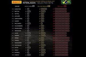 Выбор шин на Гран При Бразилии