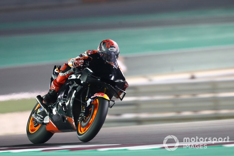 Após os testes de pré-temporada da MotoGP, Márquez se queixava do processo de recuperação que vinha enfrentando, dizendo que era mais complexo do que a do ano anterior.