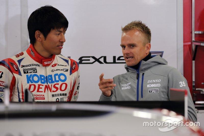 Yuichi Nakayama, Lexus Team SARD Lexus LC500 and Heikki Kovalainen, Lexus Team SARD Lexus LC500