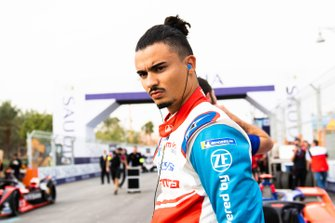 Pascal Wehrlein, Mahindra Racing on the grid