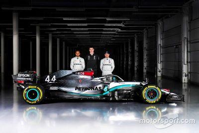 Formel-1-Autos 2020: Präsentation Mercedes F1 W11