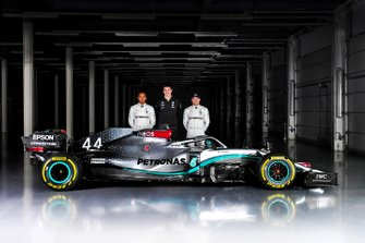Valtteri Bottas, Lewis Hamilton, Mercedes AMG F1 W11, Toto Wolff, Mercedes AMG F1 Director of Motorsport