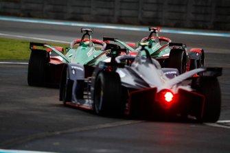 Daniel Abt, Audi Sport ABT Schaeffler, Audi e-tron FE06, Lucas Di Grassi, Audi Sport ABT Schaeffler, Audi e-tron FE06, Robin Frijns, Virgin Racing, Audi e-tron FE06
