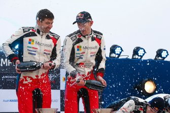 Podio: Elfyn Evans, Scott Martin, Toyota Gazoo Racing WRT Toyota Yaris WRC
