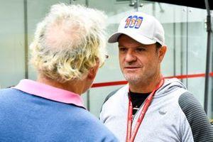 Former racer Rubens Barrichello