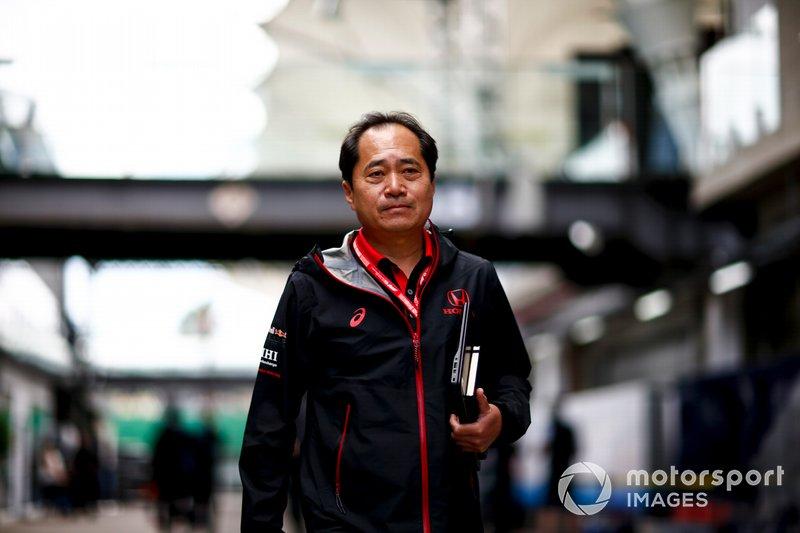 Toyoharu Tanabe, F1 Technisch Directeur, Honda