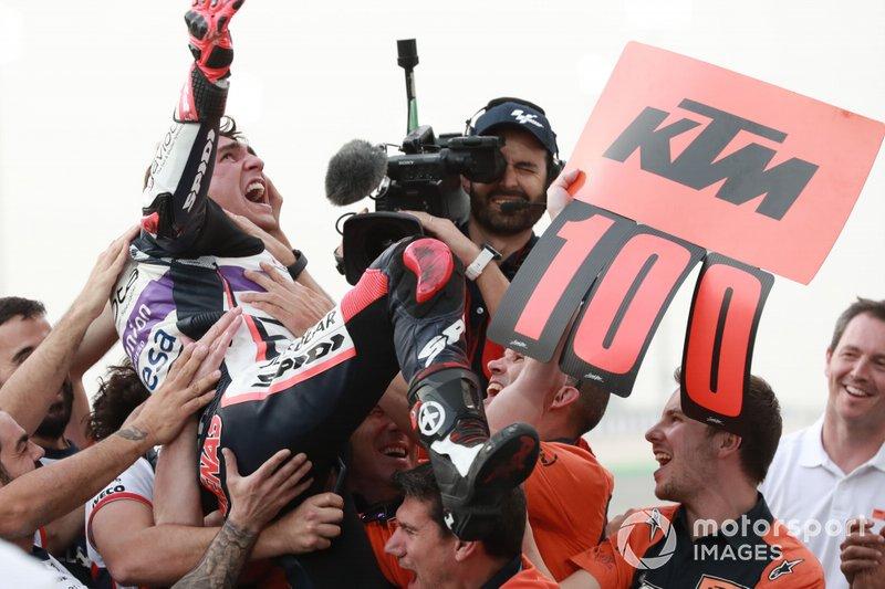 Lista completa de todos los ganadores con KTM