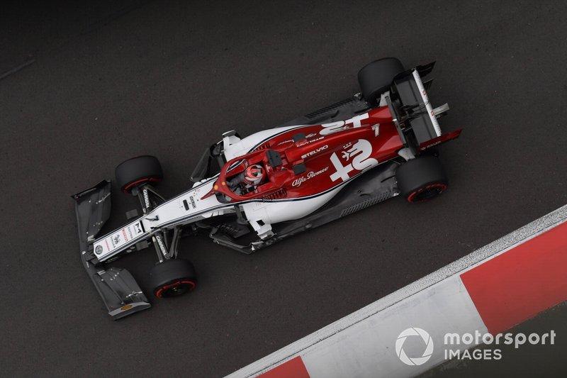 14. Кими Райкконен, Alfa Romeo Racing C38 – 1:16.967