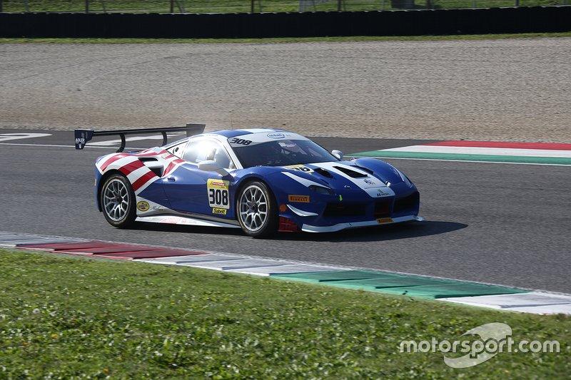 #308 Ferrari 488 Challenge, Wide World Ferrari: Mike Davies