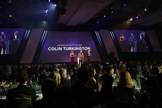 Presentation of the National Driver of the Year award won by Colin Turkington