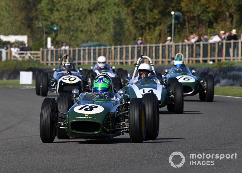 Richmond and Gordon Trophies Sam Wilson Lotus 18 Gary Pearson Cooper T53 Nick Padmore Lotus 16