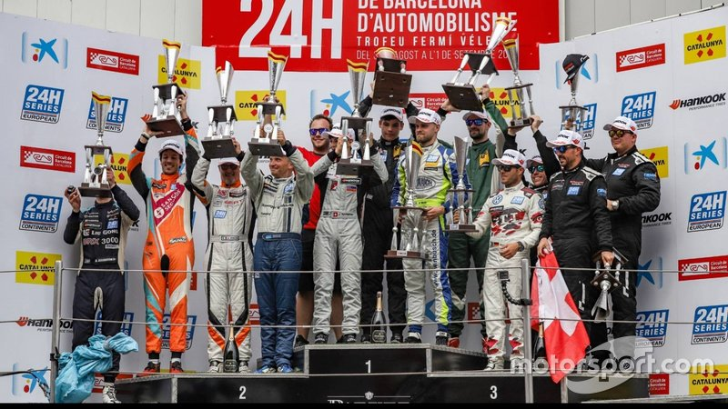 24 H Barcelona 2019 - Overall podium TCE