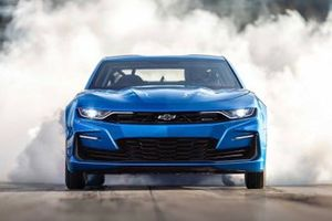 Chevrolet eCOPO Camaro electric 2019