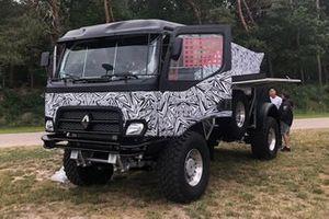 Riwald Dakar team, Renault truck