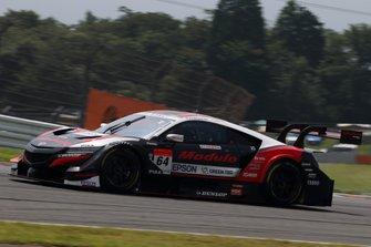 #64 Nakajima Racing Honda NSX-GT: Narain Karthikeyan, Tadasuke Makino