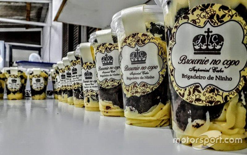 Brownies em copo